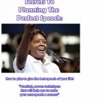 Secrets To Planning The Perfect Speech